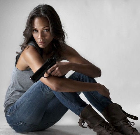 Zoe Saldana: Beauty and Brawn